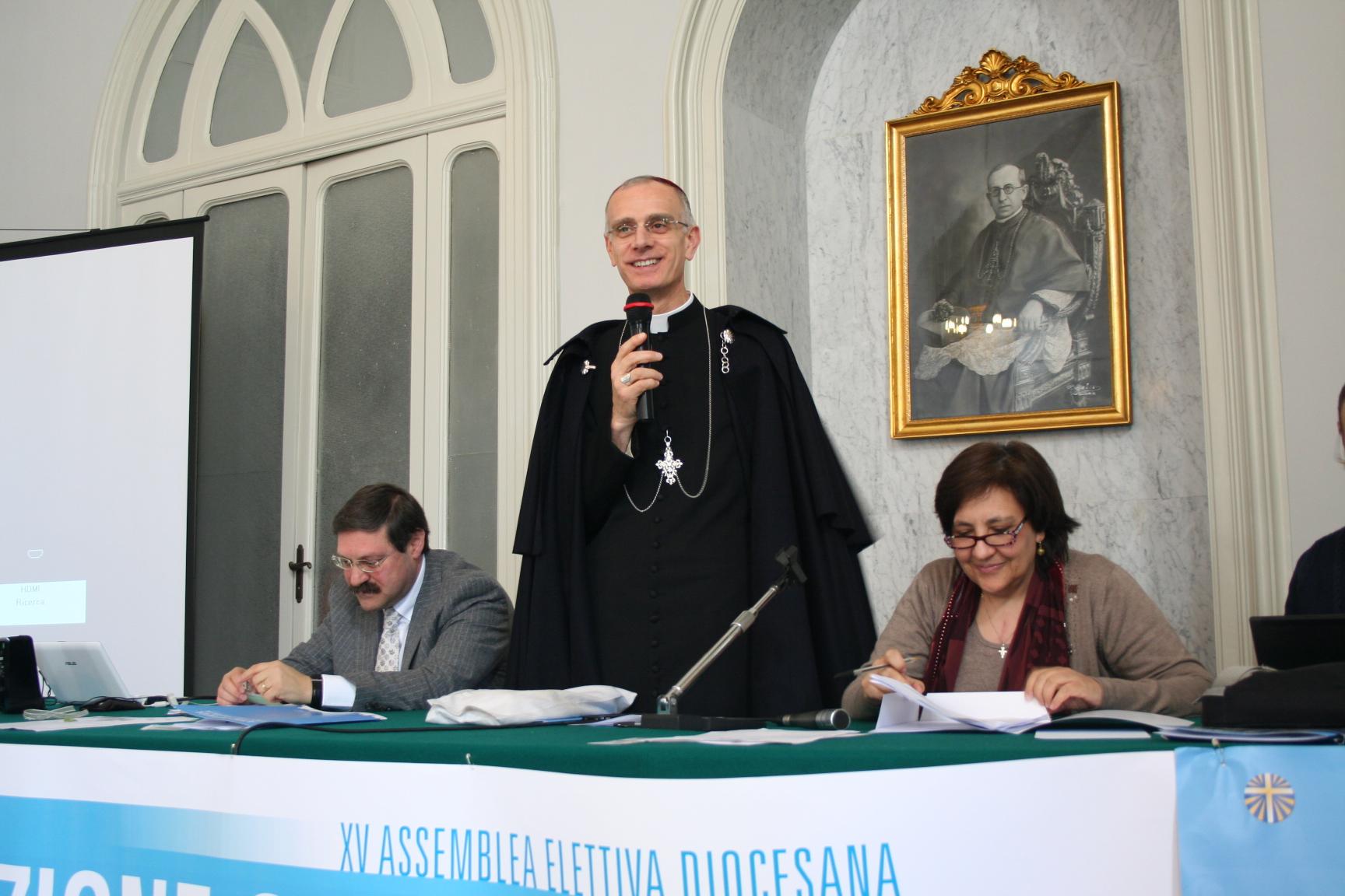 Il messaggio di Mons. Raspanti per la festa dell'Adesione – 8 dicembre 2014