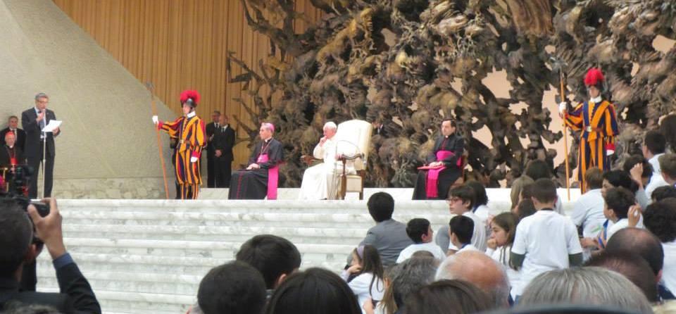 """Papa Francesco all'AC: """"Andare, Restare, Gioire"""""""