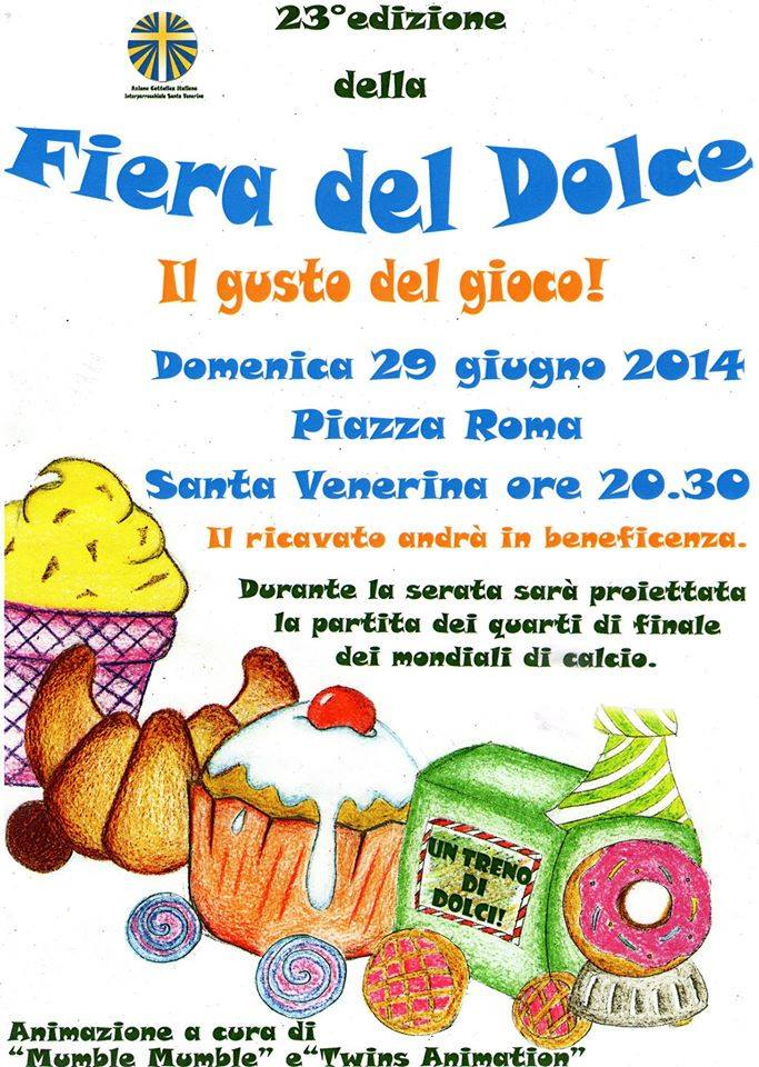 23^ Fiera del dolce a Santa Venerina