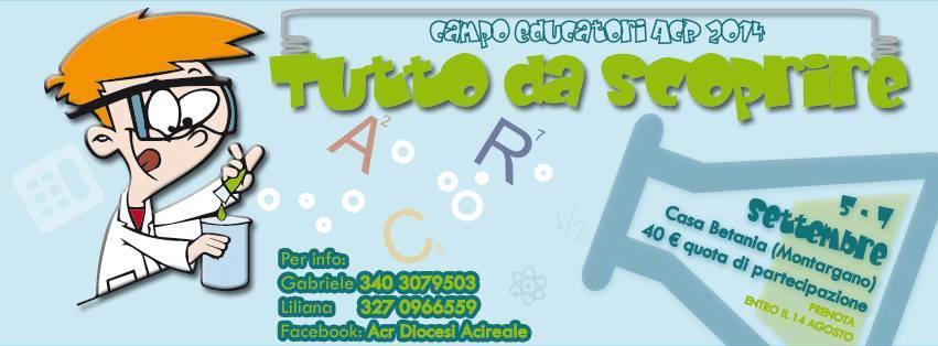 Campo educatori ACR