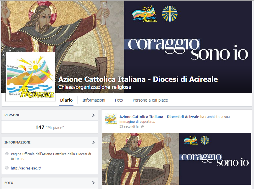 La nuova pagina FB dell'AC diocesana