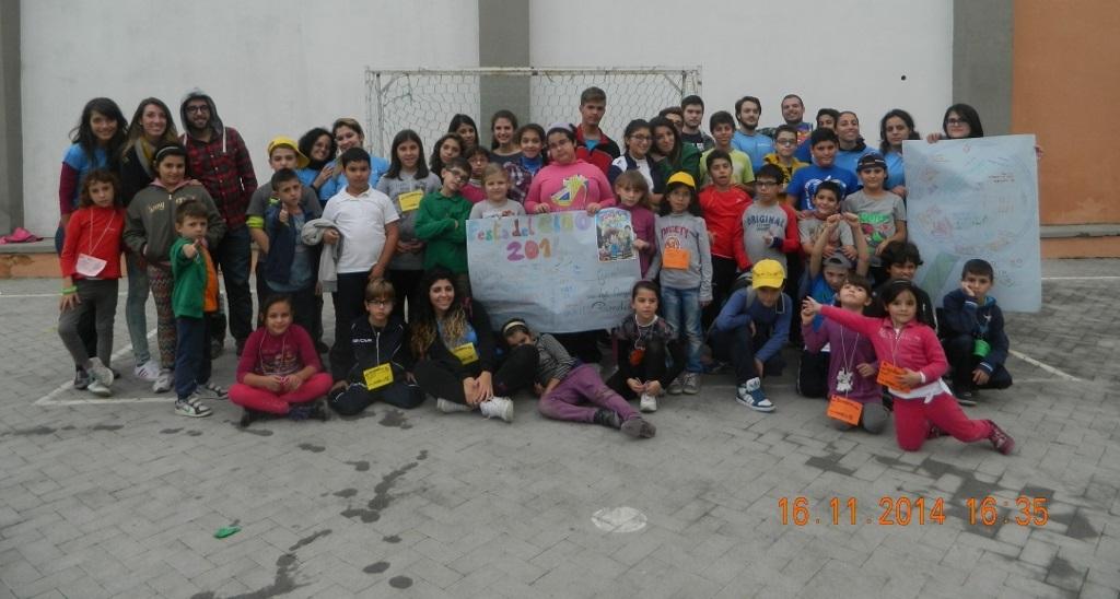 """Festa del Ciao INTER-PARROCCHIALE """"Tutto da scoprire"""" – Riposto – 16 NOVEMBRE 2014"""