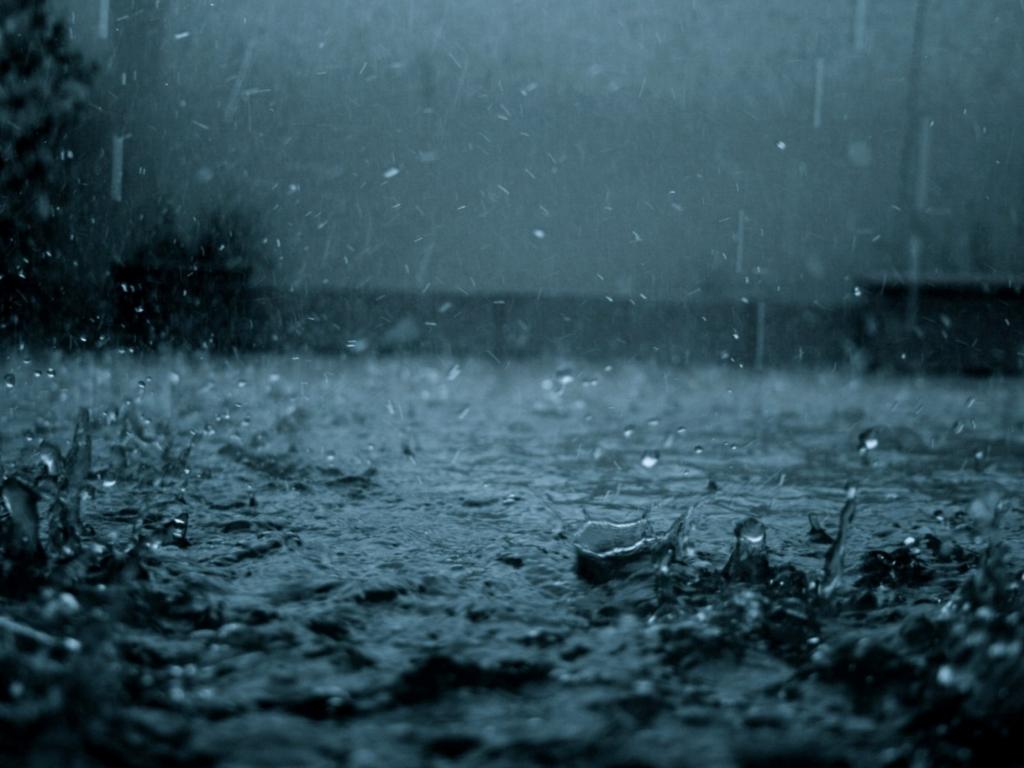 Parabola per un giorno di pioggia.