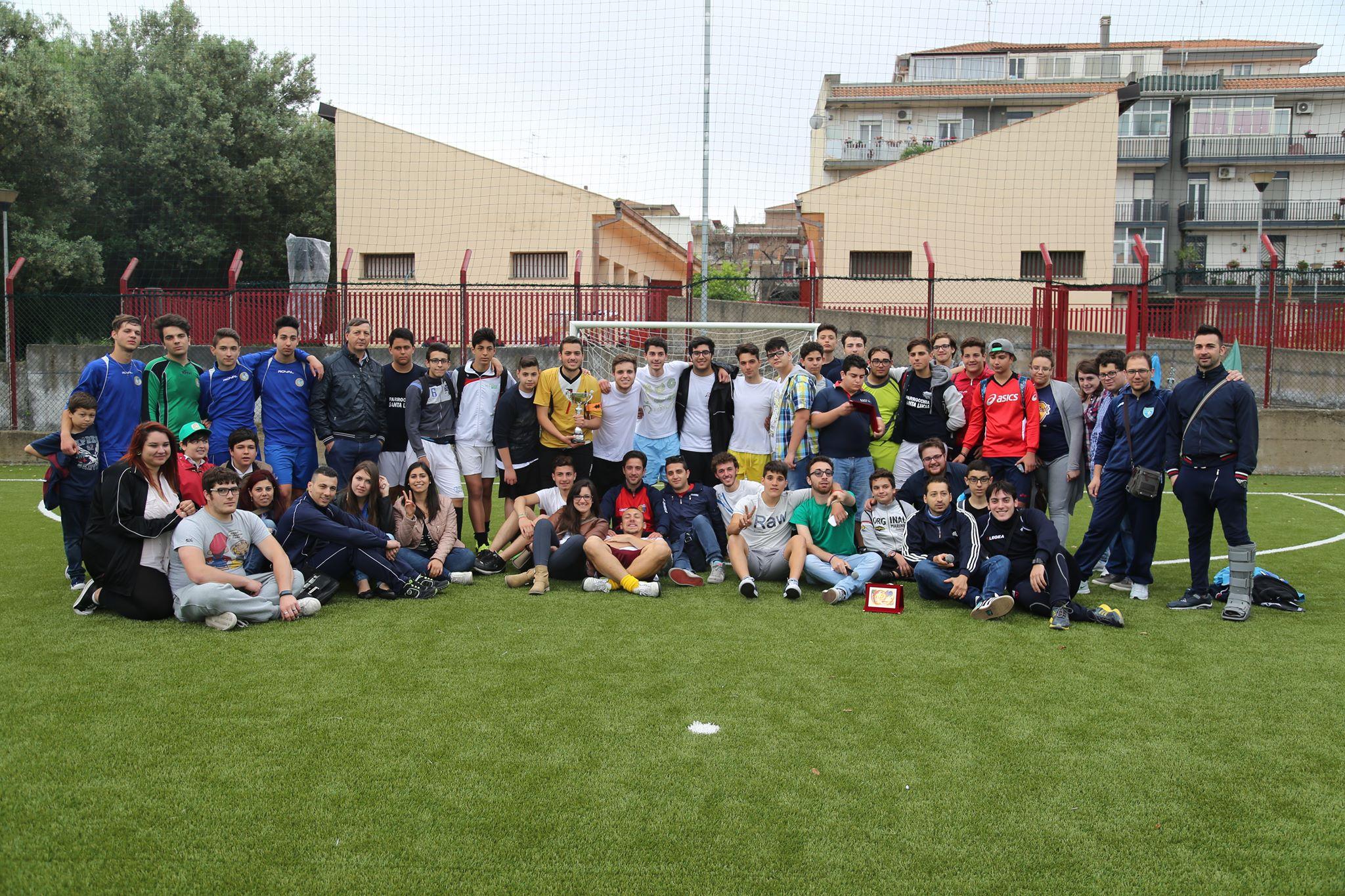 A.C. in goal 5. Torneo interparrocchiale.