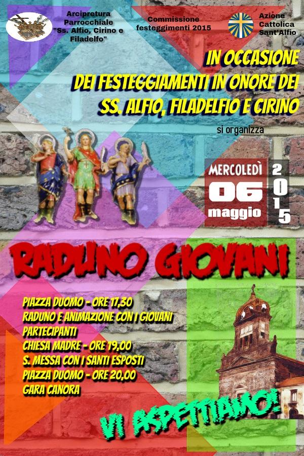 Festa Giovani a Sant'Alfio