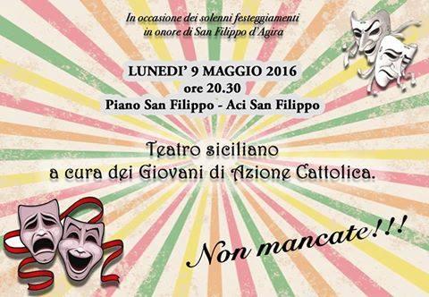 Commedia in siciliano a cura dei Giovani di AC di Aci San Filippo
