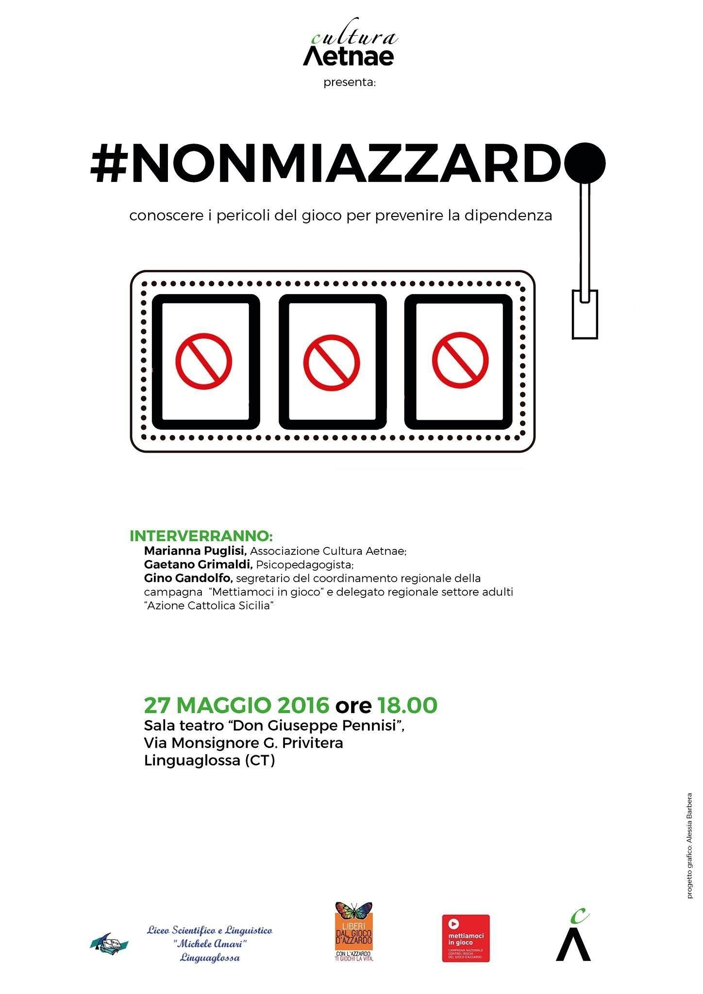 #NonMiAzzardo: conoscere i pericoli del gioco per prevenire la dipendenza