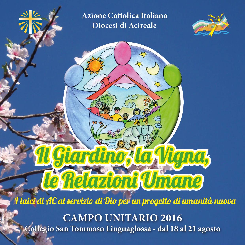Campo unitario 2016: l'invito