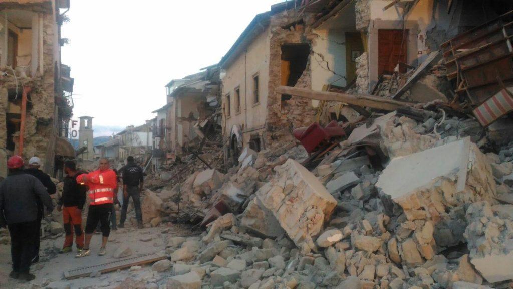 Comunicato sul terremoto di Amatrice
