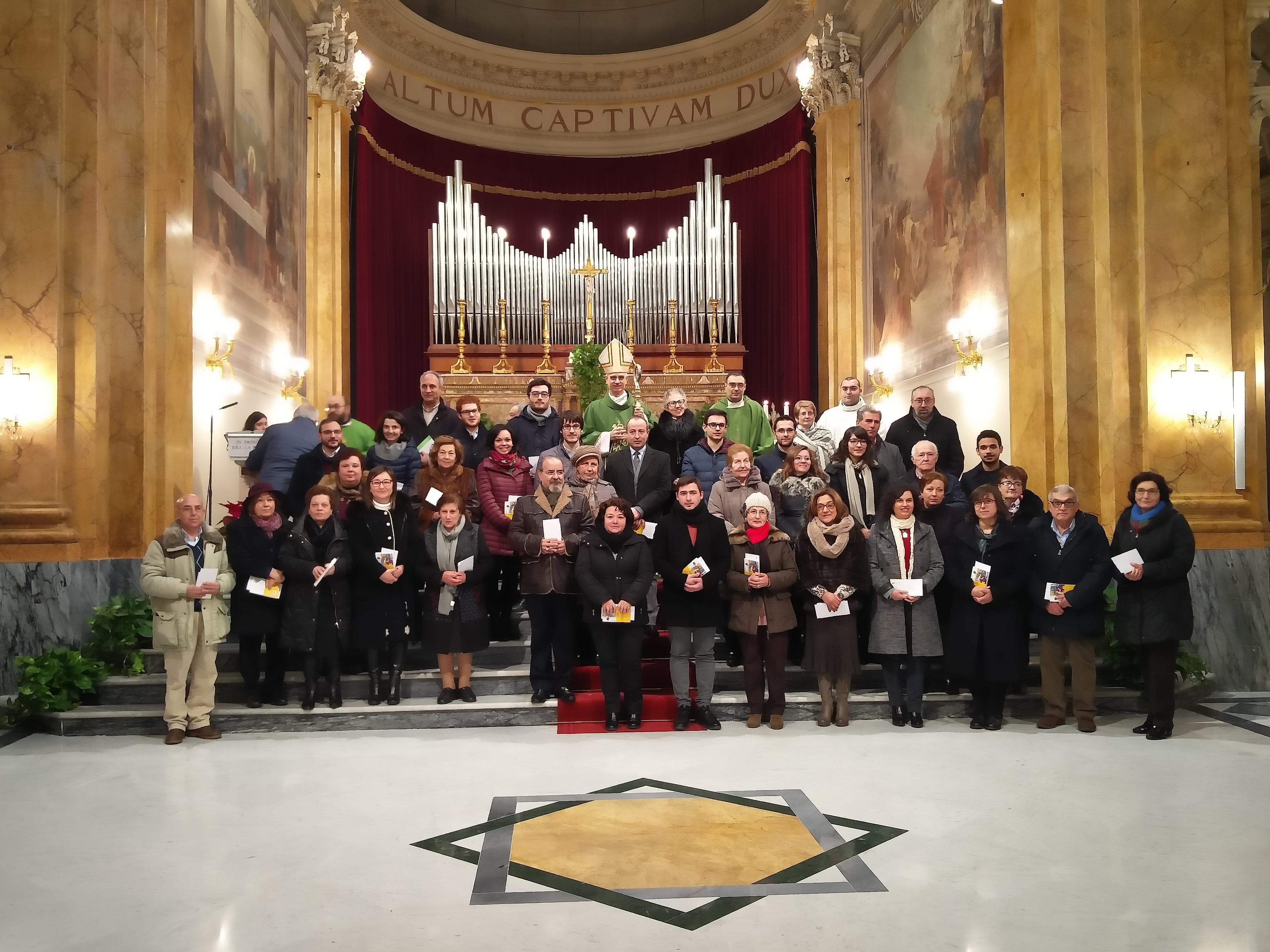 """Il mandato ai nuovi presidenti parrocchiali di Ac. Mons. Raspanti: """"Sperimentate con intelligenza la trasmissione della fede"""""""