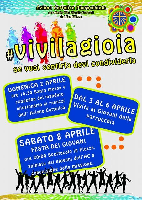 #VIVILAGIOIA: se vuoi sentirla devi condividerla
