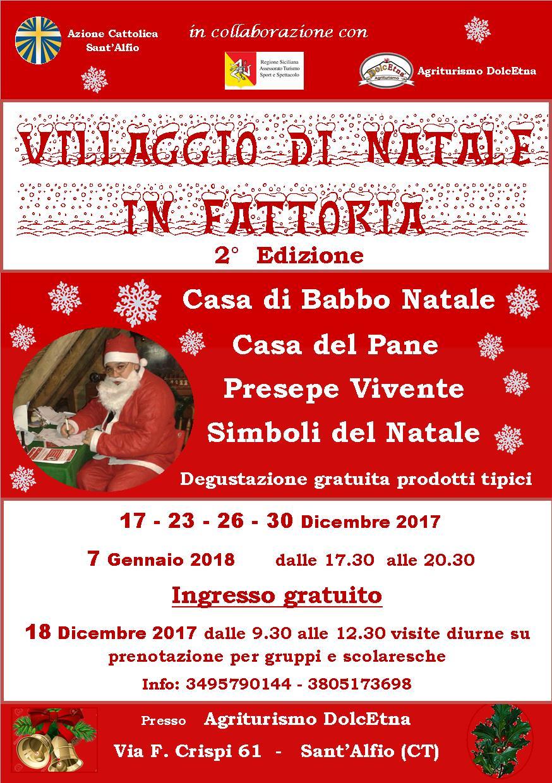 Villaggio di Natale a Sant'Alfio