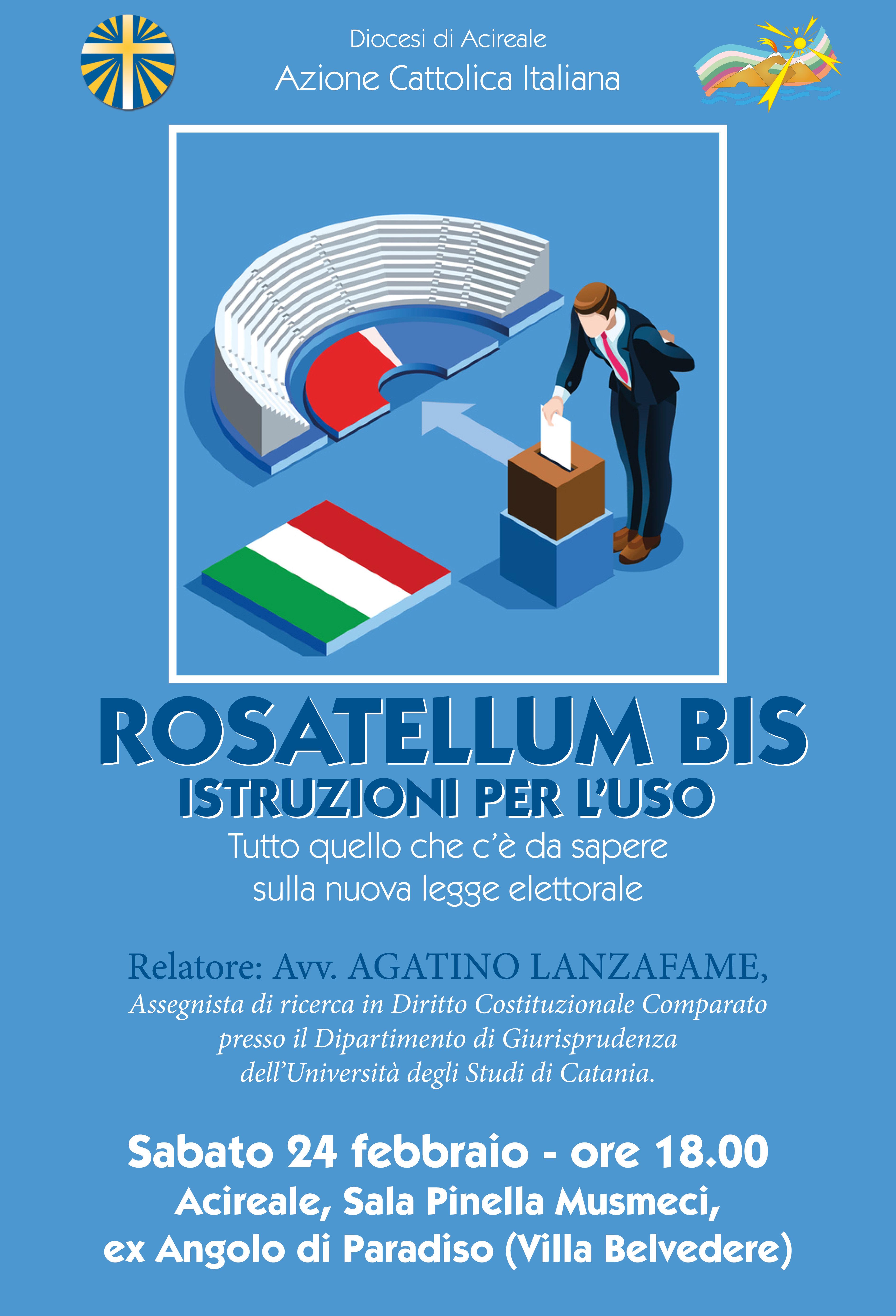 ROSATELLUM BIS – ISTRUZIONI PER L'USO