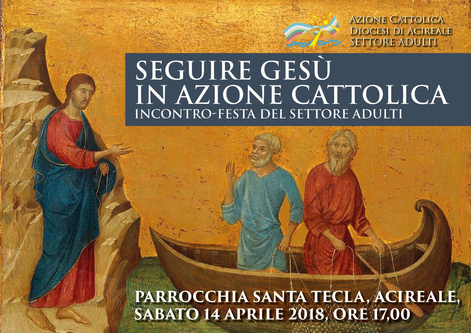 Seguire Gesù in Azione Cattolica: incontro-festa del settore adulti