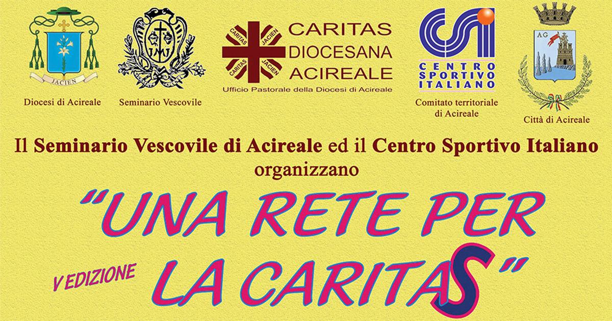 """Il quadrangolare di calcio """"Una rete per la Caritas"""""""
