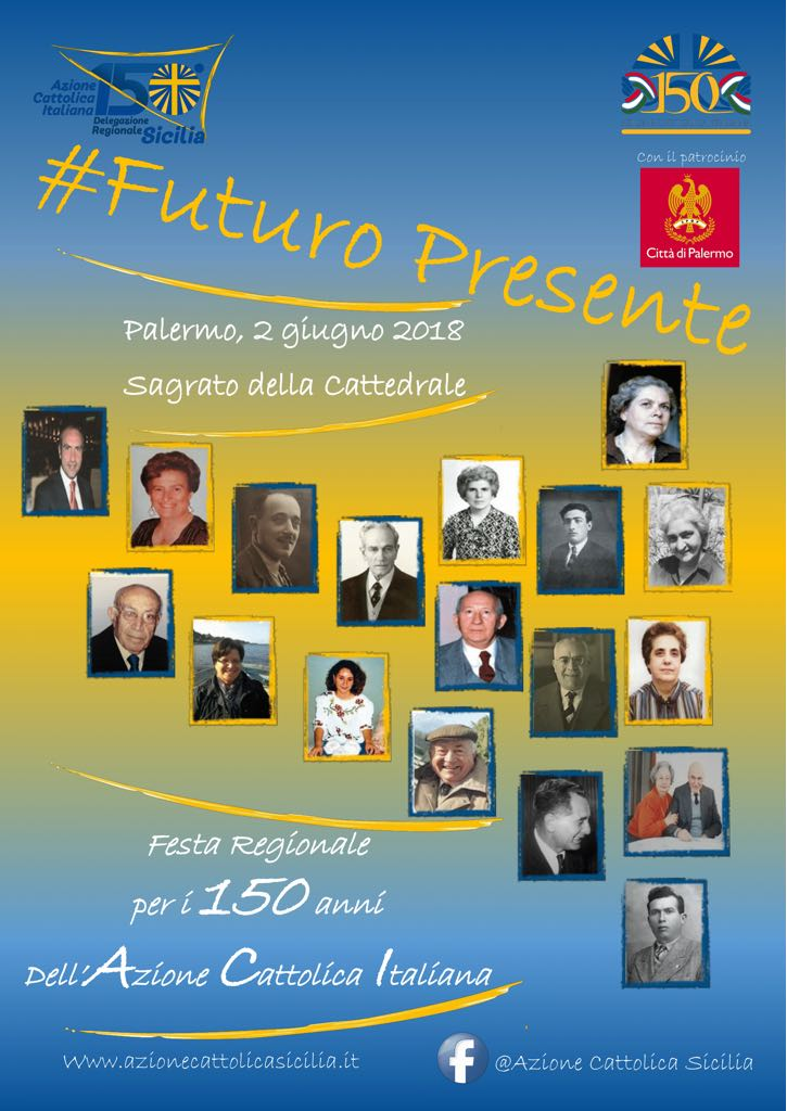 Associazioni: Palermo, sabato scorso i festeggiamenti dell'Azione Cattolica. Messaggio di Mattarella