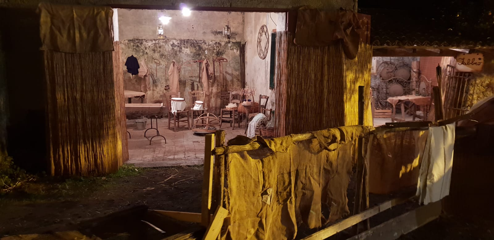 L'arrivo dei magi alla grotta di Betlemme – Sacra Rappresentazione del Presepe Vivente
