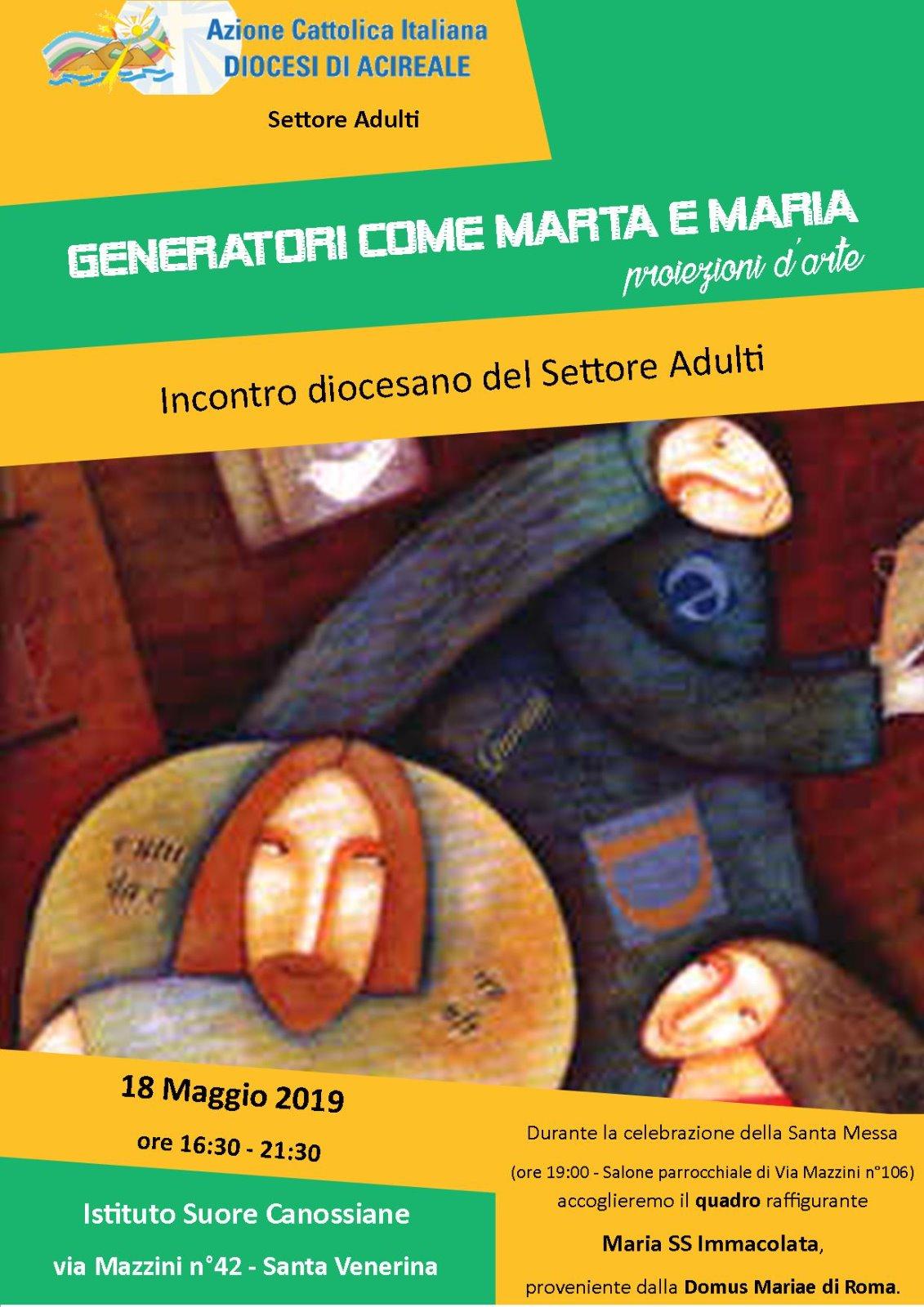 Incontro diocesano del settore Adulti