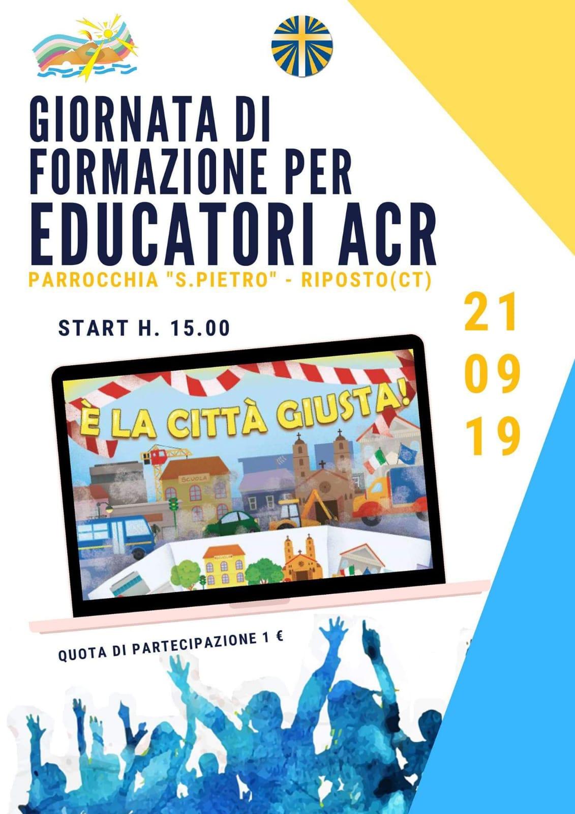 Giornata di formazione per educatori ACR