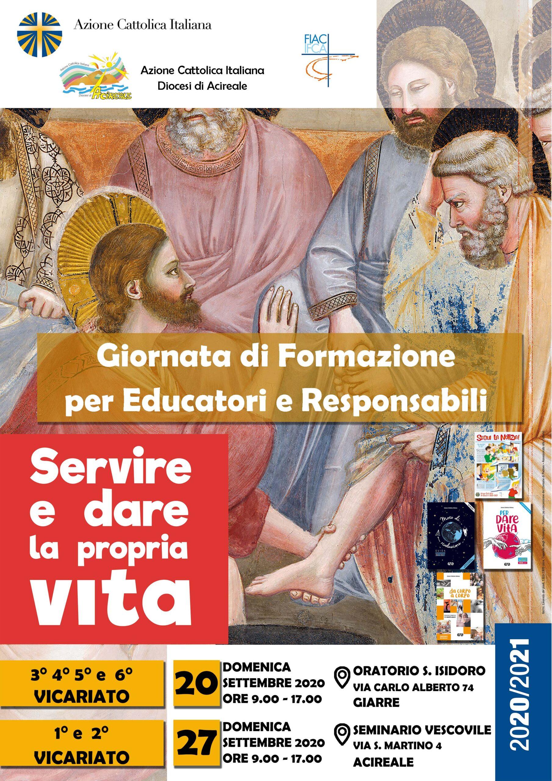 Giornata di formazione per educatori e responsabili