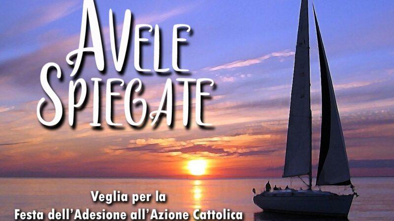 Veglia per la Festa dell'Adesione all'Azione Cattolica.